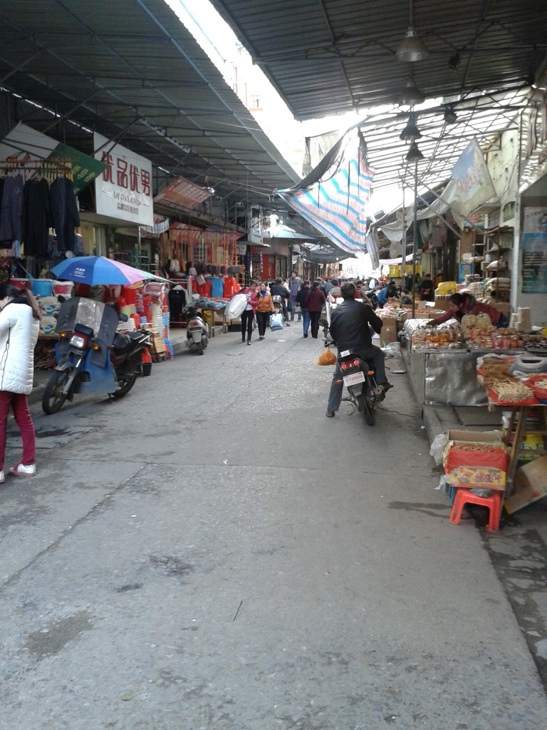 Open Air Shops in Shangli
