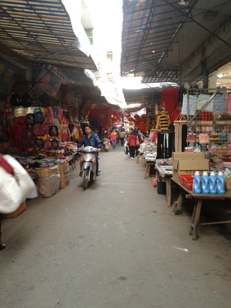 Open Air Shop in Shangli