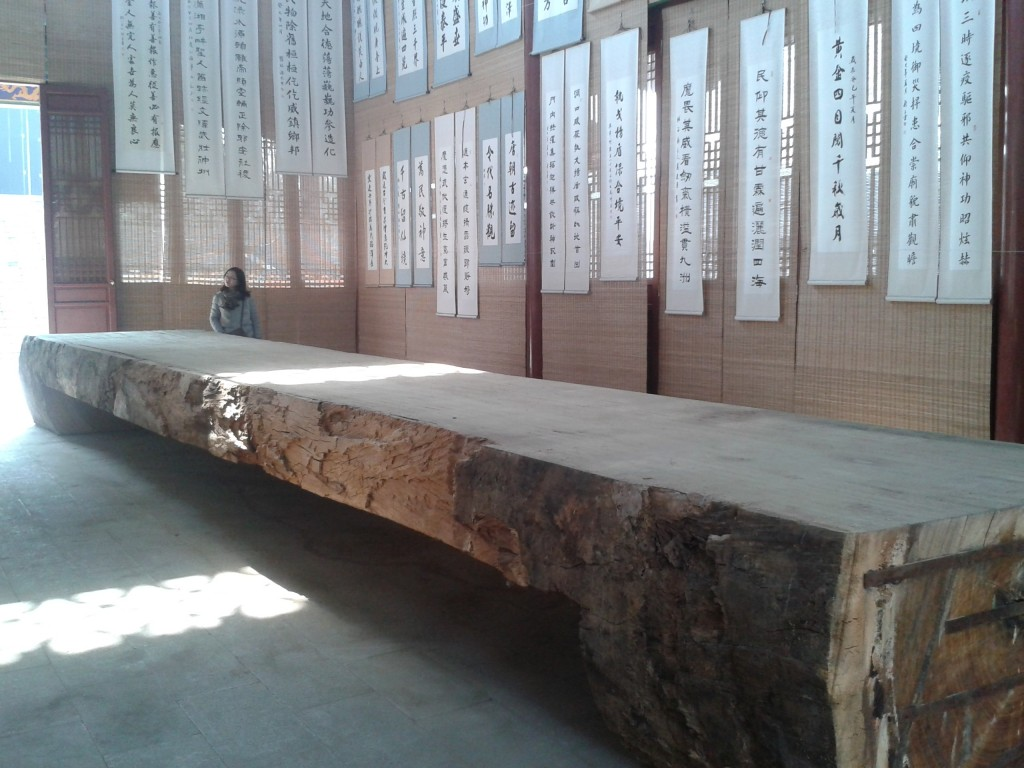 Anyuan Fairview Garden Historic Tree Table