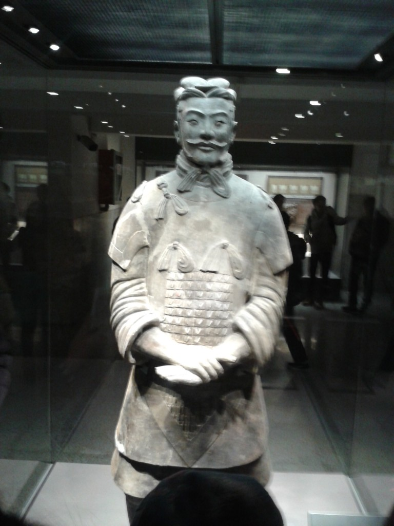 Terracotta Warrior Statues Xian Shaanxi China